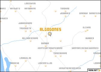 Algodones (Mexico) map   nona.net
