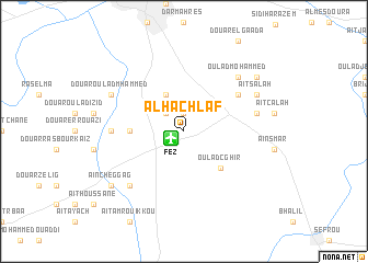 map of Al Hachlaf
