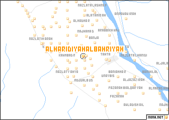 map of Al Ḩarīdīyah al Baḩrīyah