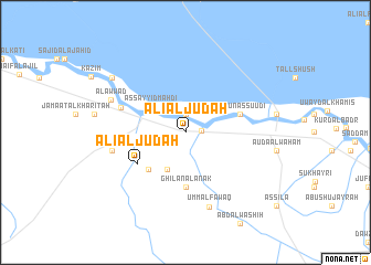 map of 'Alī al Jūdah