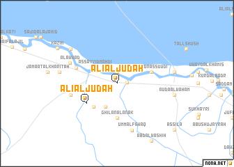 map of 'Alī al Jūdah