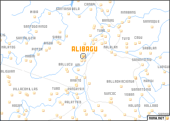 map of Alibagu