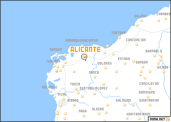 Alicante Philippines map nonanet