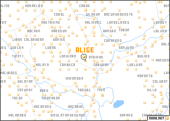 map of Alige