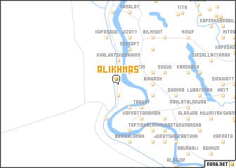 map of Al Ikhmās