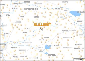 map of Alillarët