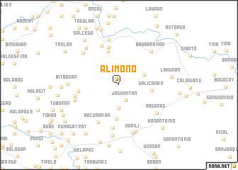 map of Alimono