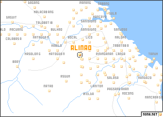 map of Alinao