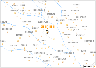 map of Əliqulu