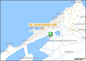 Al Iskandaryah Egypt map nonanet