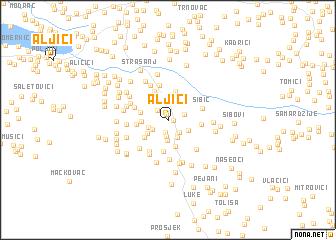 map of Aljići