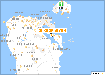 map of Al Khārijīyah