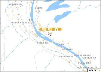 map of Al Kilābīyah