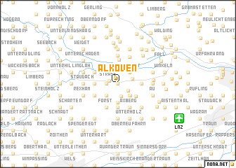 map of Alkoven