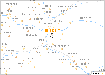 map of (( Allakë ))