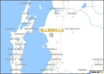 map of Allamvillu