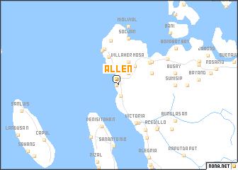 Allen Philippines map nonanet
