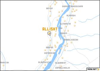 Al Lisht Egypt map nonanet