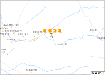 map of Al Maghal