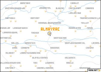 map of Almayrac