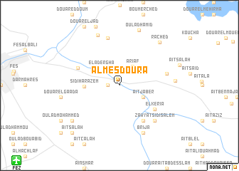 map of Al Mesdoura