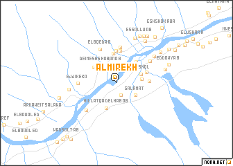 map of Al Mirekh