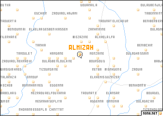 map of Al Mizah