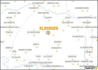 map of Al Mnasra