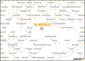 map of Almofala