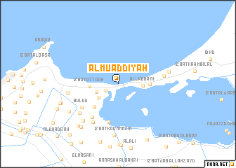 map of Al Mu'addīyah