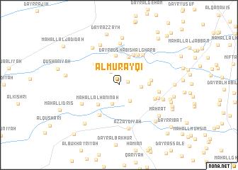 map of Al Murayqī