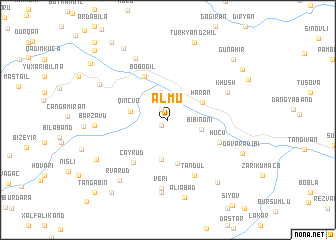 map of Almu