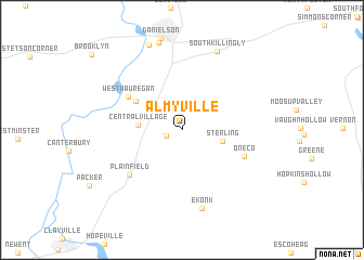 map of Almyville