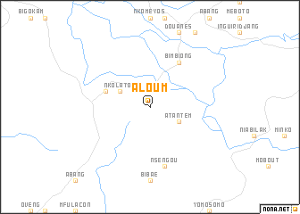 map of Aloum