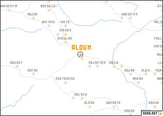 map of Aloum