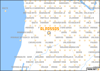 map of Alpossos