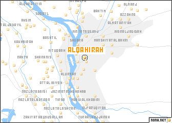 Al Qhirah Egypt map nonanet