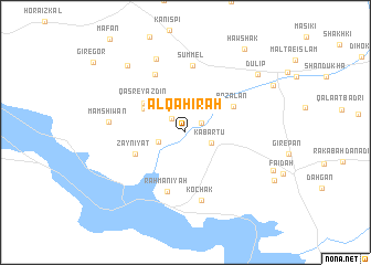 Al Qhirah Iraq map nonanet