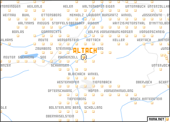 map of Altach