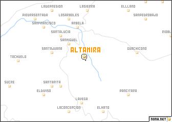 map of Altamira