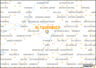 map of Altdürnbuch
