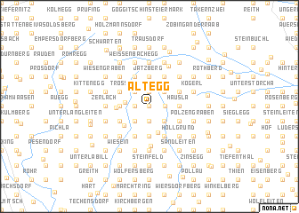 map of Altegg