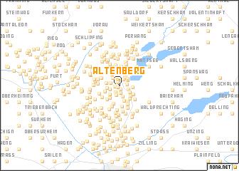 map of Altenberg