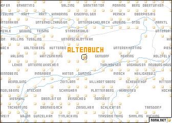 map of Altenbuch