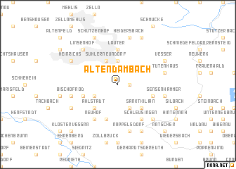 map of Altendambach
