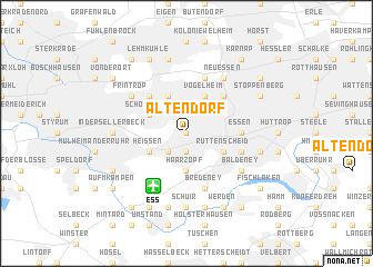 map of Altendorf