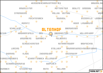 map of Altenhof