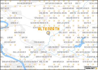 map of Altenrath