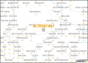 map of Altenstadt