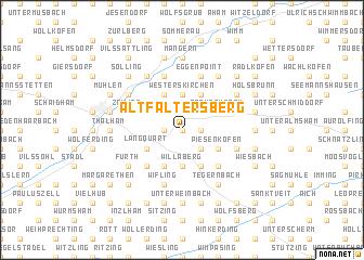 map of Altfaltersberg